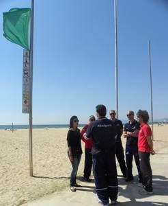 Salou inicia hoy el despliegue del servicio de Salvamento y Socorrismo en las playas