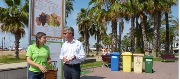 Salou inicia una campaña para mejorar la calidad recogida de la materia orgánica en el municipio