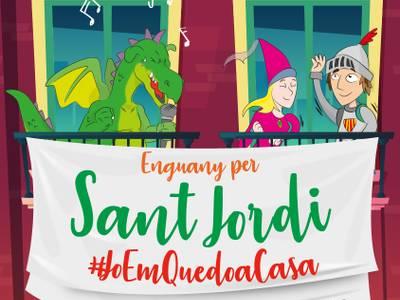 Salou invita a engalanar los balcones de las casas con rosas y dragones, para celebrar la Diada de Sant Jordi
