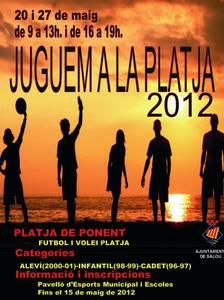Salou organiza el decimoctavo campeonato 'Jugamos en la playa'