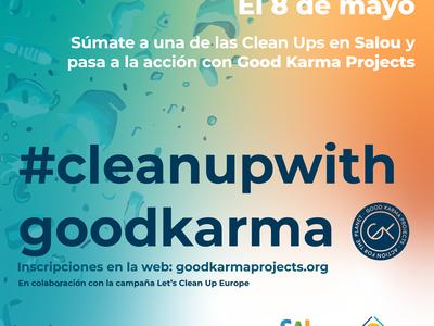 Salou organiza una jornada de limpieza de residuos, este sábado, 8 de mayo, en seis puntos del municipio, en el marco de la semana 'Let's Clean Up Europe 2021'