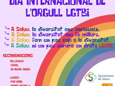 Salou pone en valor los derechos del colectivo LGBTI, en el marco de la conmemoración del Día del Orgullo, este domingo, día 28 de junio