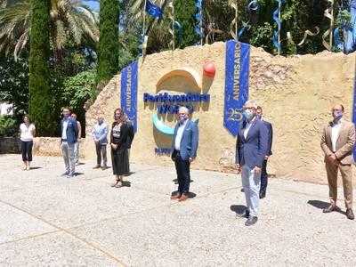 Salou, presente en la visita institucional de la consellera de Empresa i Coneixement, Àngels Chacón, en PortAventura World, en apoyo al sector turístico